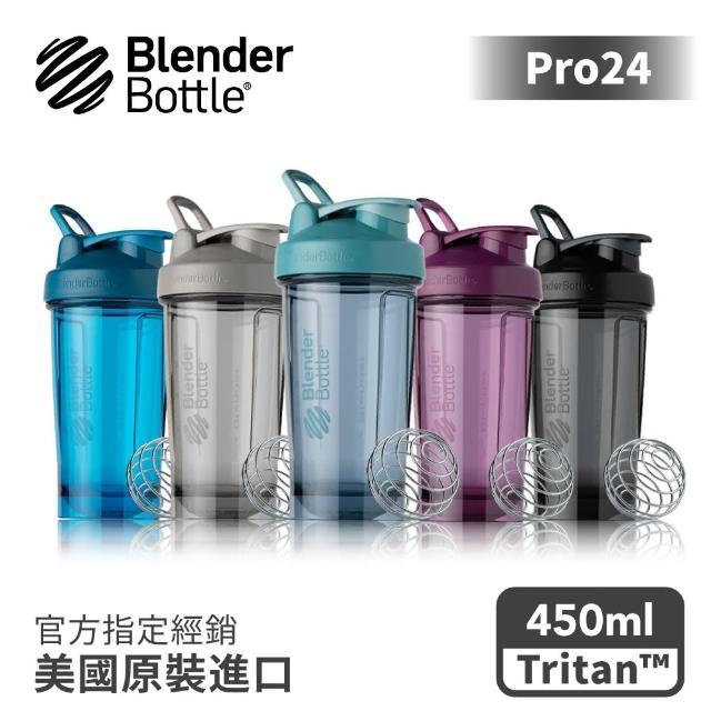 【Blender Bottle】Tritan搖搖杯-Pro24系列 美國原裝進口(blenderbottle/運動水壺/乳清蛋白)