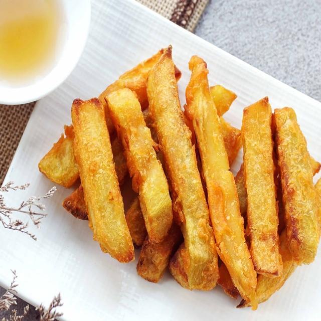 【海之醇】10包組-黃金脆皮地瓜薯條(250g/包)