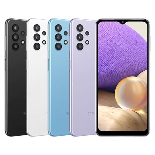 送原廠Galaxy Bud+藍芽耳機【SAMSUNG 三星】Galaxy A32 5G 6.5吋四鏡頭智慧型手機(4G/64G)