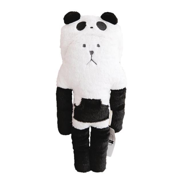 【CRAFTHOLIC 宇宙人】黑熊貓熊熊小抱枕(熊貓Q版系列)