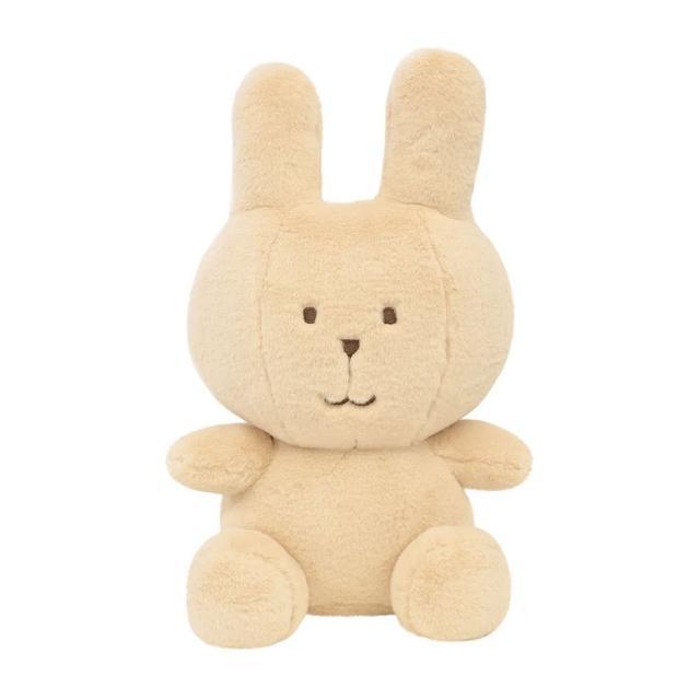 【CRAFTHOLIC 宇宙人】馬卡龍象牙白兔坐姿大抱枕(馬卡龍系列)