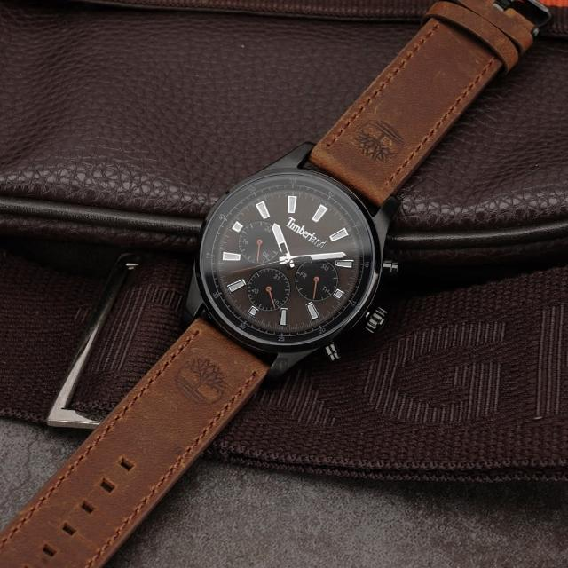 【Timberland】多功能日期手錶-46mm(TDWGF2100402)