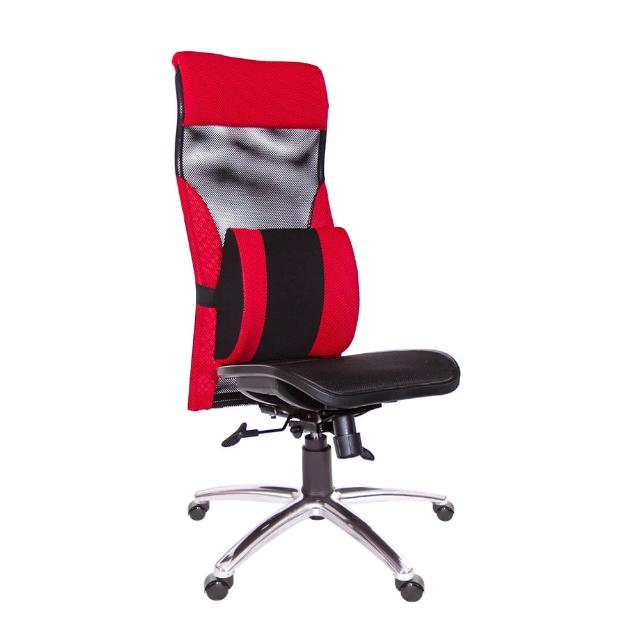 【GXG 吉加吉】高背電腦椅 無扶手/大腰枕(TW-170 LUANH)