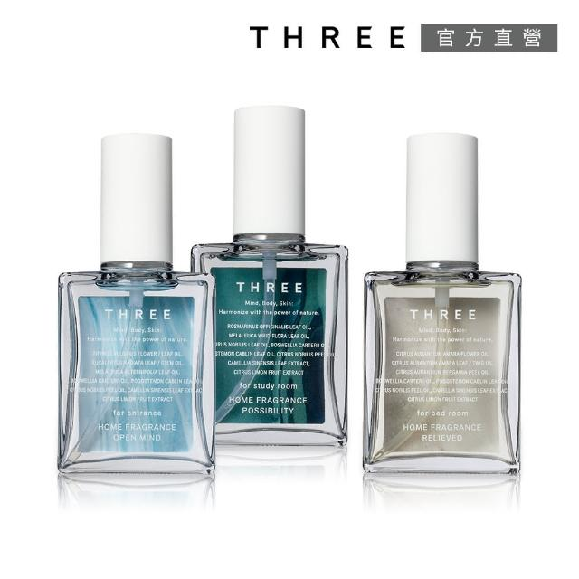 【THREE】精油香氛噴霧 74 mL(3款任選)