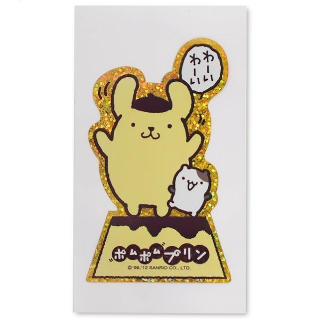 【TDL】布丁狗貼紙卡通貼紙悠遊卡貼紙兒童獎勵貼紙 512289