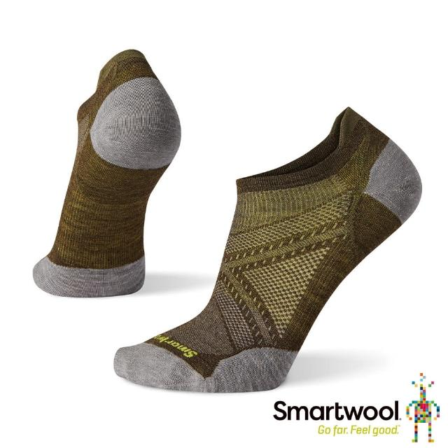 【SmartWool】PhD機能跑步超輕減震踝襪(軍風橄綠)