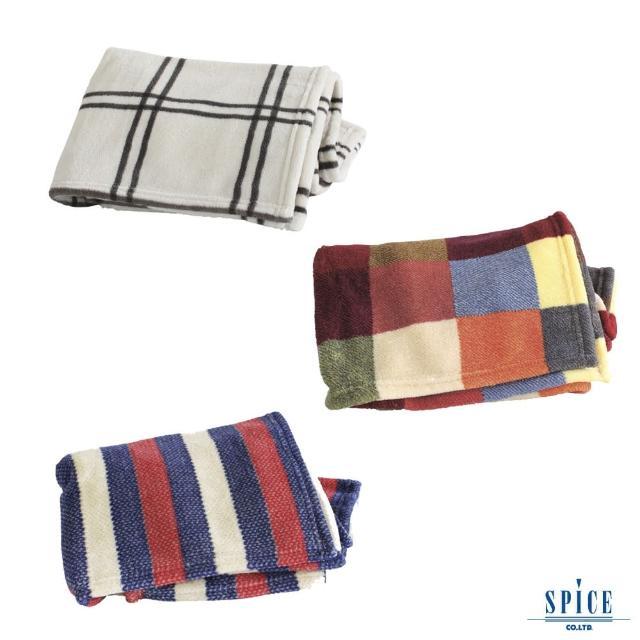 【SPICE】日本雜貨 進口大鬆軟毛毯 3色(夏被 單人被 超柔軟 可洗衣機水洗)