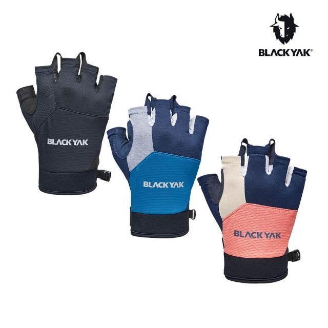 【BLACK YAK】YAK半指手套[粉紅/海軍藍/黑色]BYAB1NAN05(韓國 耐磨防滑 半指手套)