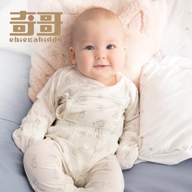 【奇哥】森林小兔嬰兒長褲/居家服-氧樂多牛奶纖維布(18個月)