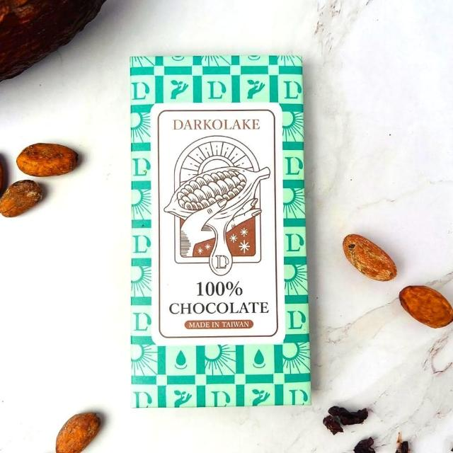 【多儂莊園工坊】100% 黑巧克力 3大片 bar(無糖 黑巧克力 Darkolake)