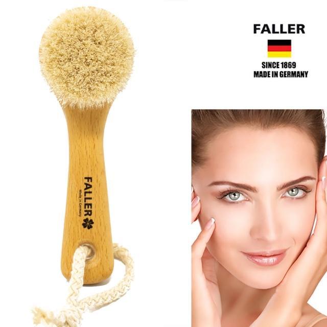 【FALLER 芙樂】德國製 山羊毛溫和毛孔深層潔顏刷 洗面刷(毛孔髒污掰掰)