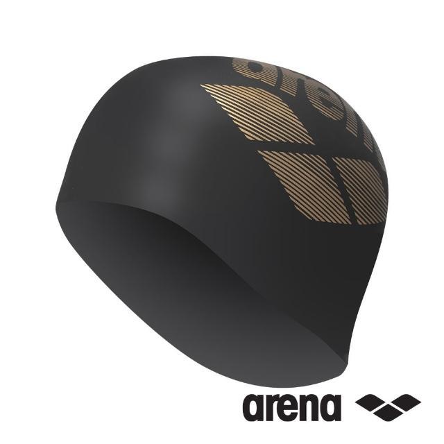 【arena】泳帽 矽膠 大LOGO ARN-6400E