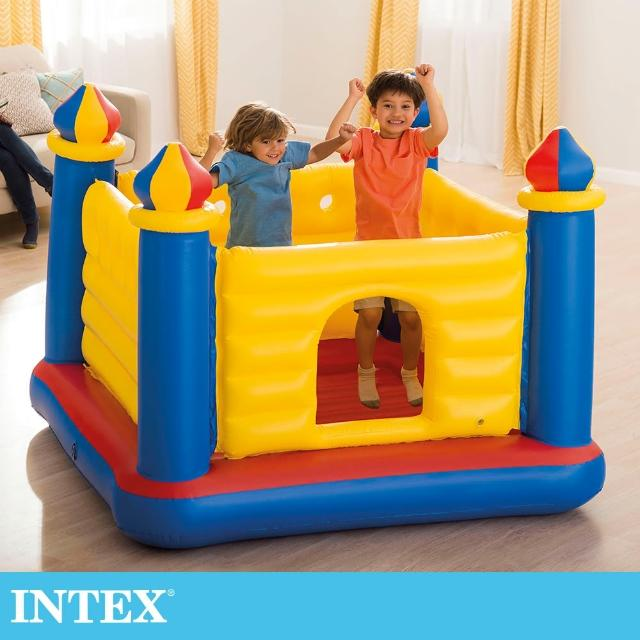 【INTEX】城堡造型跳跳床175x175x135cm(48259NP)
