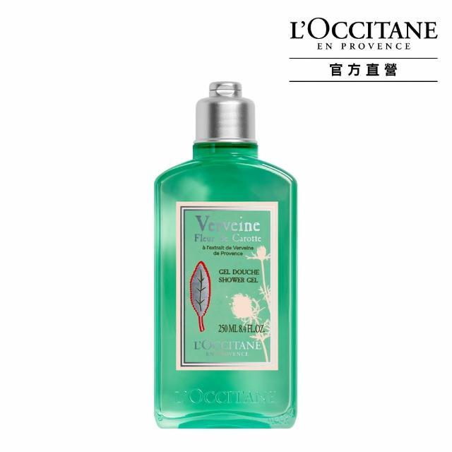 【L'Occitane 歐舒丹】薄荷馬鞭草去角質沐浴膠250ml