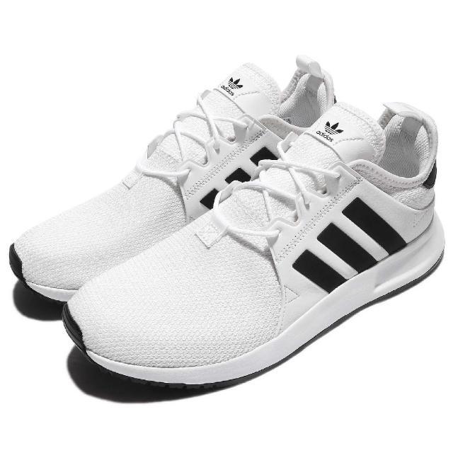 【adidas 愛迪達】休閒鞋 X_PLR 復古 反光 男鞋 女鞋 愛迪達 低筒 運動 慢跑 情侶鞋 男 女 白 黑(CQ2406)