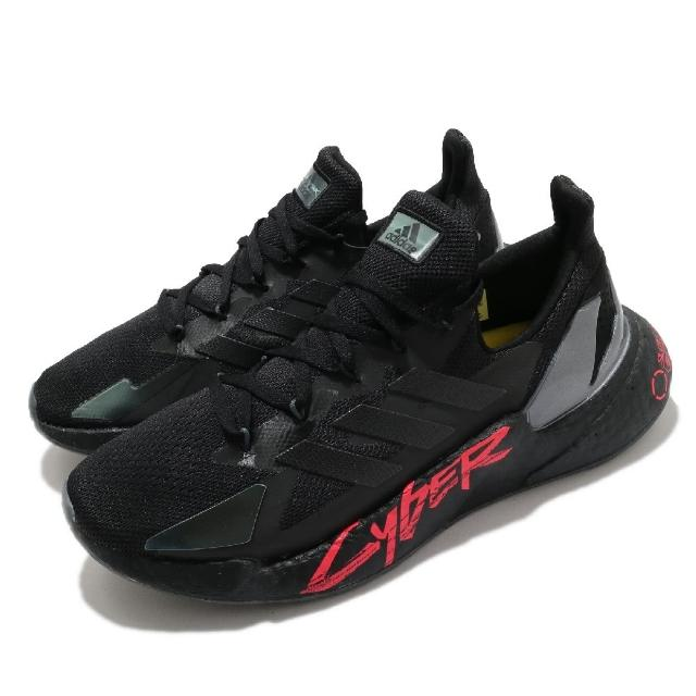 【adidas 愛迪達】慢跑鞋 X9000L4 Cyberpunk 男鞋 愛迪達 聯名 電馭叛客 科技風跑鞋 機械感 黑紅(FZ3091)