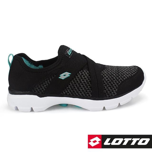 【LOTTO】女 EASYWEAR 樂活輕跑鞋(黑-LT7AWX5880)