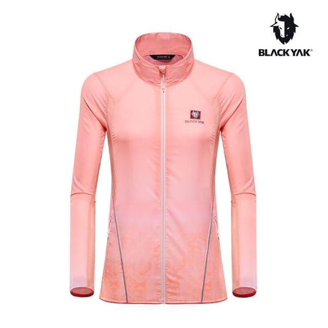 【BLACK YAK】女CORDURA耐磨透氣輕量外套[粉橘色]BY181WJ003(韓國春夏 防風外套 女外套)
