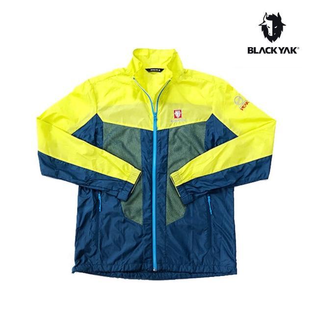 【BLACK YAK】男YAK AIRING透氣網布輕薄外套[萊姆黃]BY181MJ004(韓國春夏 透氣外套 男外套)