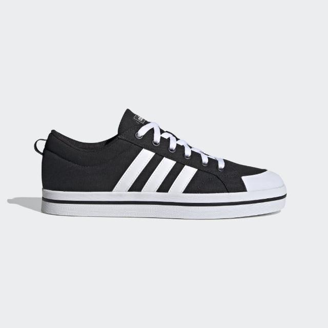 【adidas 愛迪達】Bravada 滑板鞋男鞋三線帆布 NO.FV8085