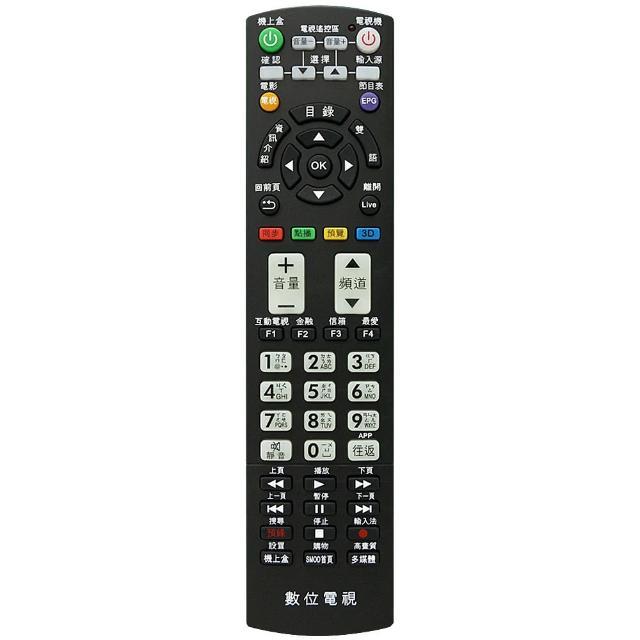 【全區版】第四台有線電視數位機上盒遙控器 MOD-2000(3入組)