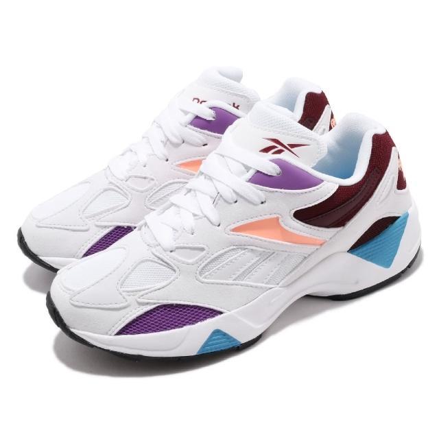 【REEBOK】休閒鞋 AZTREK 96 運動 男鞋 復古 舒適 球鞋 穿搭 老爹鞋 推薦 白 紫(EF7620)