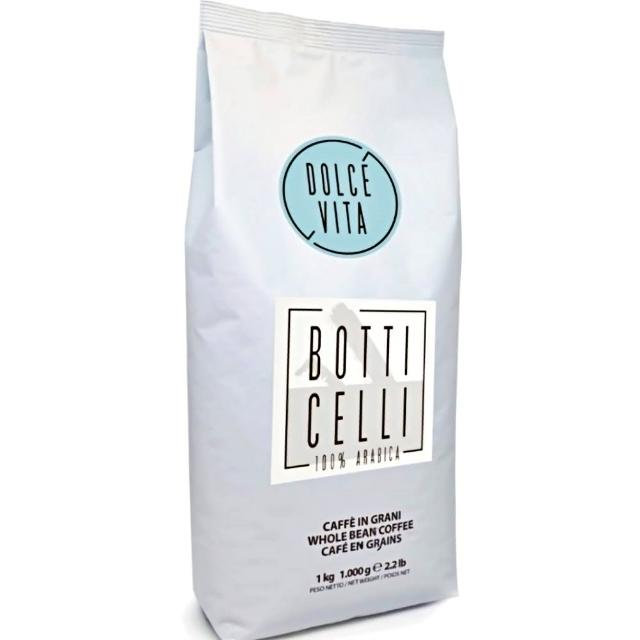 【AGUST義大利阿古斯咖啡】波堤BOTTICELLI 1公斤袋裝(義大利咖啡濃縮咖啡冠軍)