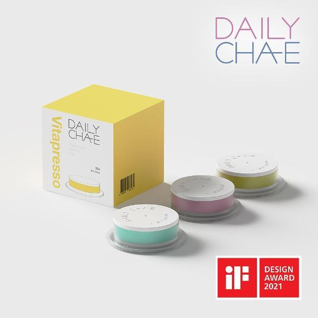【韓國製造 DailyCha-E】香氛維他命膠囊 DV-1 黑櫻桃x1 巴哈馬藍x1 白麝香x1(維他命C、除餘氯、保濕)