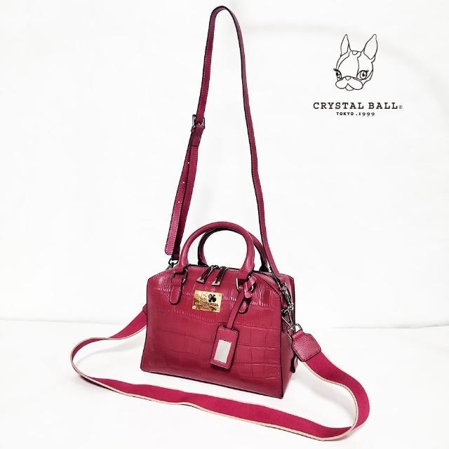 CRYSTAL BALL 狗頭包【CRYSTAL BALL 狗頭包】Cow leather Carre bag時尚包(狗頭包)