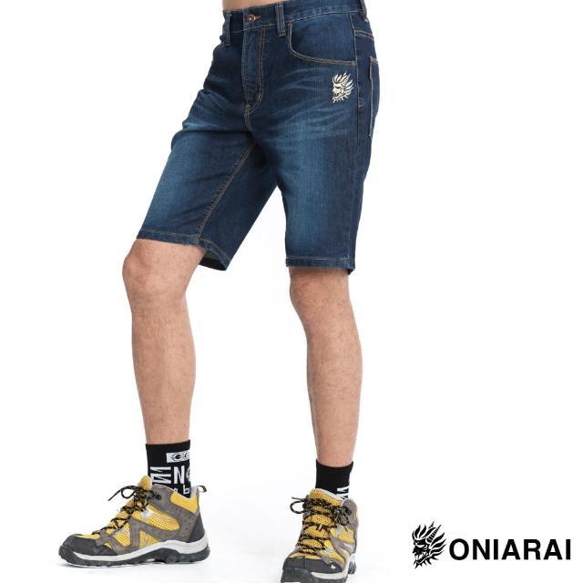 【BLUE WAY】鬼洗彈力牛仔短褲-鬼洗