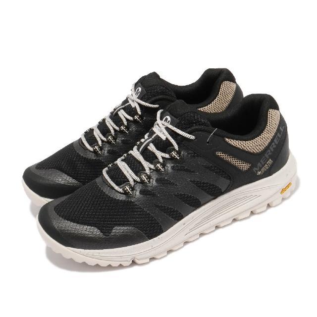 【MERRELL】戶外鞋 Nova 2 GTX 戶外 男鞋 登山 越野 耐磨 黃金大底 防潑水 黑 淺褐(ML066783)