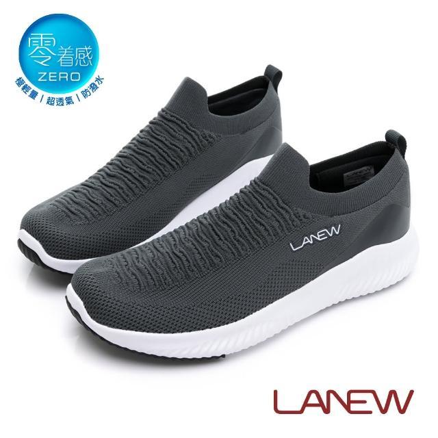 【La new】零著感輕量透氣防潑水鞋 運動鞋(男40276143)