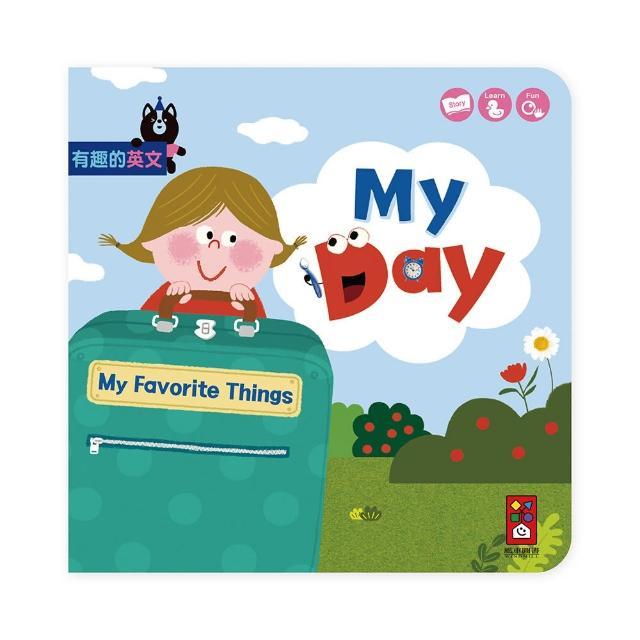 【風車圖書】My Day(我的一天 有趣的英文)