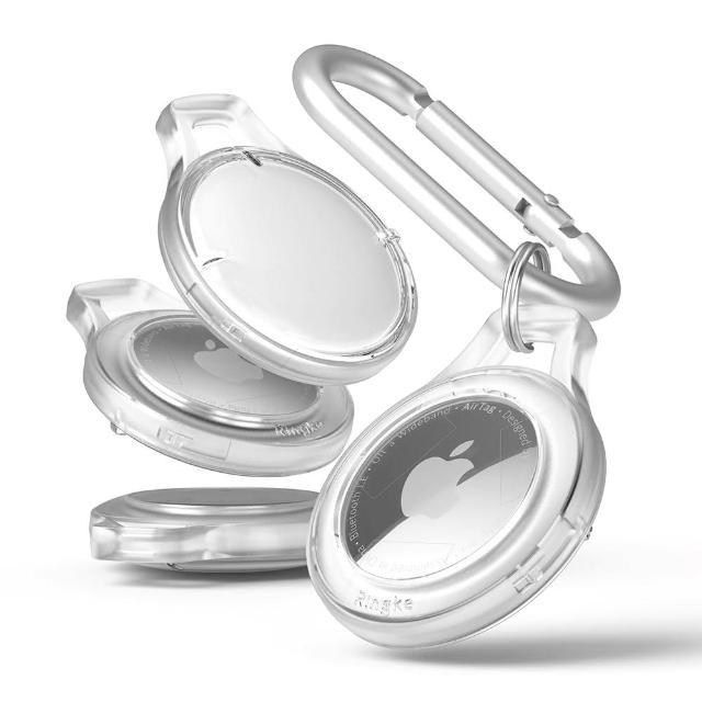 【Rearth】Ringke Apple Airtag 輕薄保護殼(透明四件組)