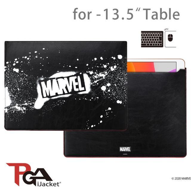 【iJacket】迪士尼 漫威 Marvel 13.5吋 通用 平板保護套(可當滑鼠墊)