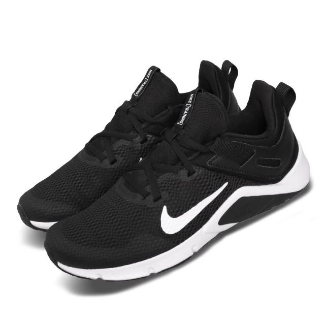 【NIKE 耐吉】訓練鞋 Legend Essential 女鞋 輕量 透氣 避震 穩定 健身房 運動 黑 白(CD0212-001)