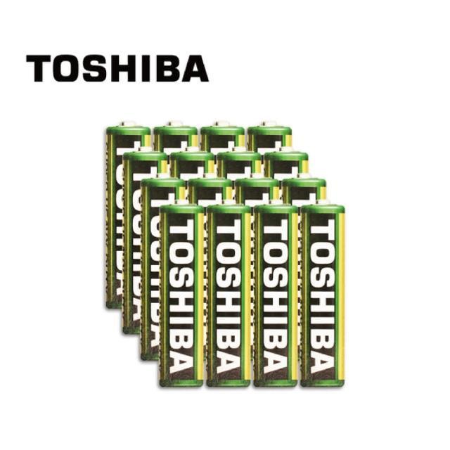 【TOSHIBA 東芝】環保4號電池 16入