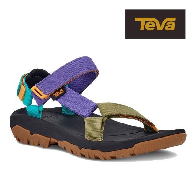 【TEVA】原廠貨 女 Hurricane XLT2 機能運動涼鞋/雨鞋/水鞋(復古亮彩色-TV1019235BRMLT)