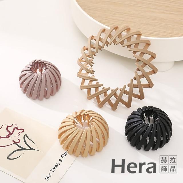 【HERA 赫拉】韓版鳥巢髮圈丸子頭髮飾-3色 H1100701(攜帶方便)