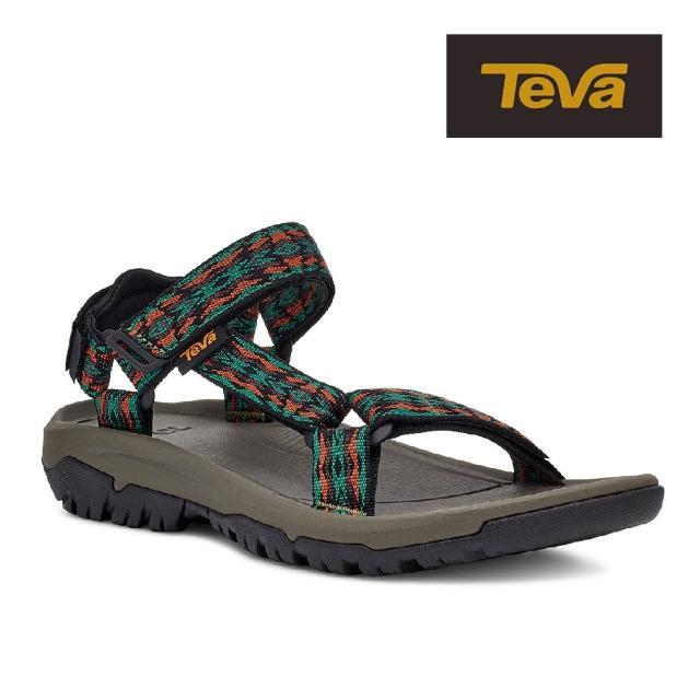 【TEVA】原廠貨 男 Hurricane XLT2 機能運動涼鞋/雨鞋/水鞋(復古圖騰棕-TV1019234RRTL)