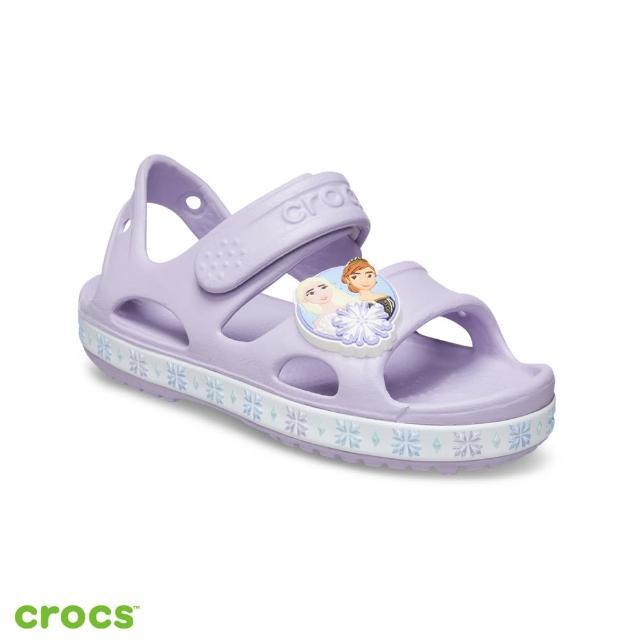 【Crocs】童鞋 趣味學院冰雪奇緣系列小童涼鞋(206792-530)
