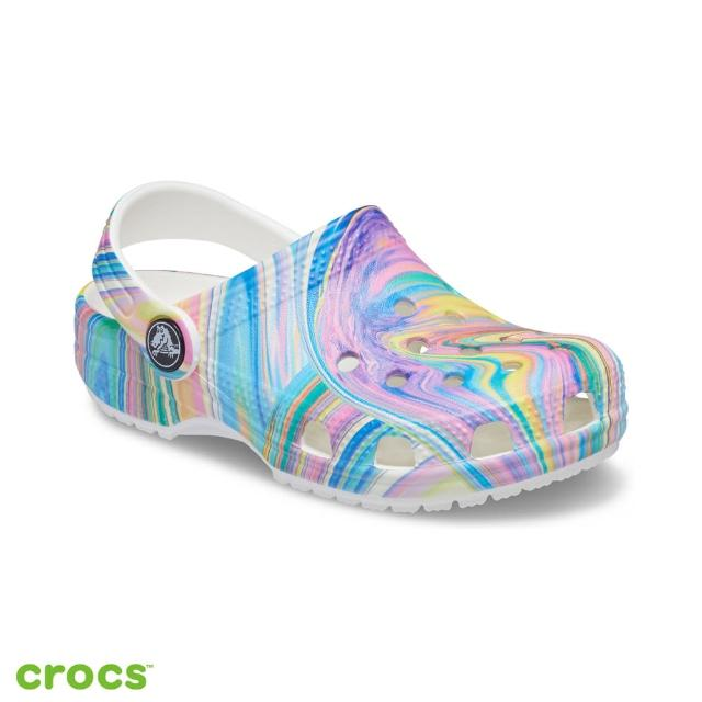【Crocs】童鞋 經典印花小克駱格(206818-928)