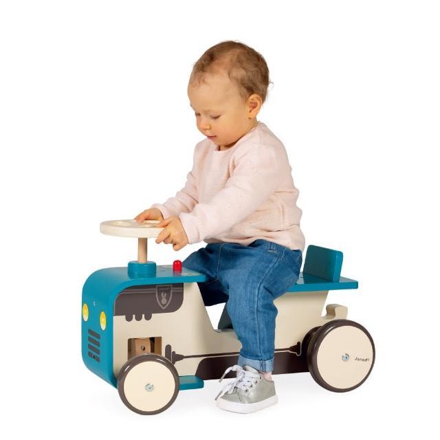 【Janod】拖拉機滑步車