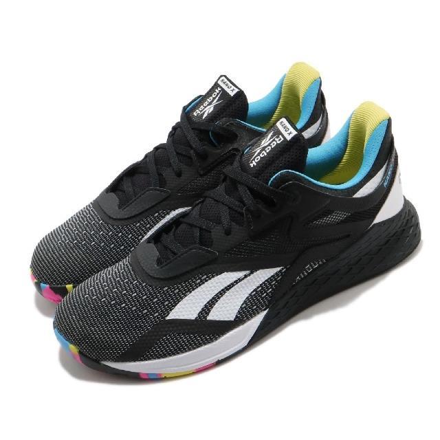 【REEBOK】訓練鞋 Nano X 低筒 運動 男鞋 健身房 支撐 包覆 球鞋 穿搭 黑 白(FW8127)