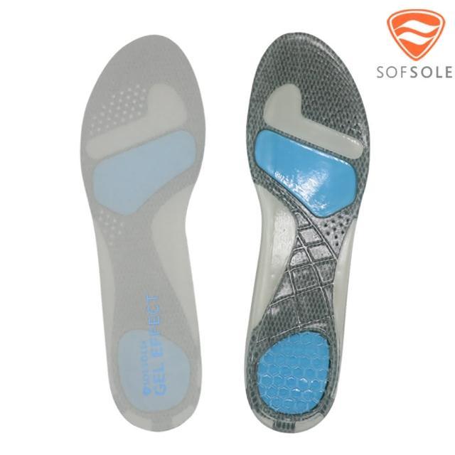 【SOFSOLE】S1340-06-21370 凝膠運動鞋墊-L/XL-男用(減震防滑 緩衝 透氣 超薄)