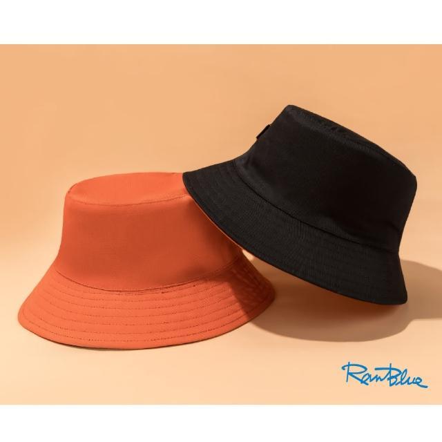 【Ranblue】韓版簡約 雙面漁夫帽 防曬遮陽帽(四色任選)