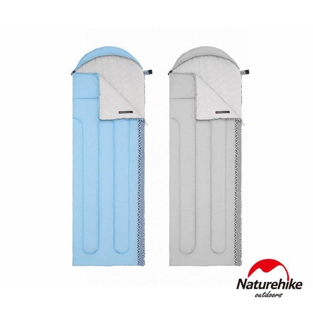 【Naturehike】L250圖騰可機洗帶帽睡袋 MSD07