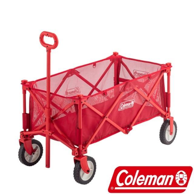 【Coleman】Coleman 網布四輪拖車(CM-37466)