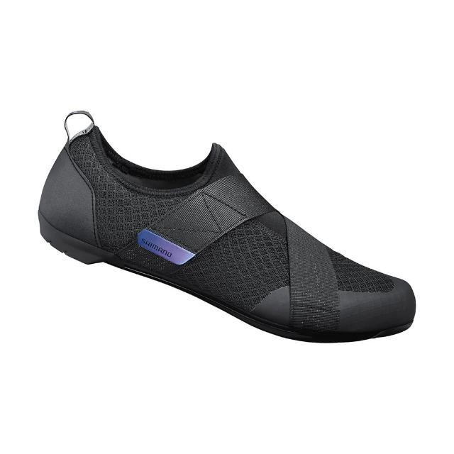 【SHIMANO】IC100 男款飛輪車鞋 黑色