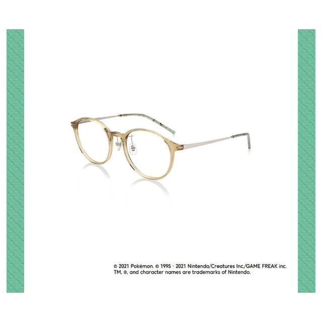 【JINS】Pokemon寶可夢聯名輕量眼鏡-菊草葉款(AURF21S007)